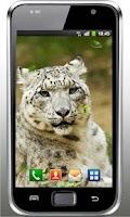 Screenshot of Snow Leopard Mountains LWP