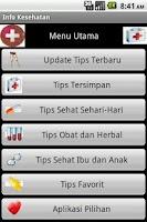 Screenshot of Info Kesehatan