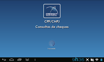 Screenshot of CPF/CNPJ – CONSULTA DE CHEQUES