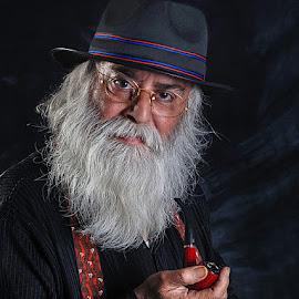 Uncle Fernando by Rakesh Syal - People Portraits of Men (  )