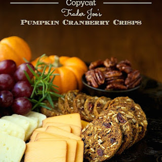 Copycat Trader Joe's Pumpkin Cranberry Crisps