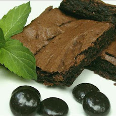 Healthy (kind of ) Chocolate Mint Brownies