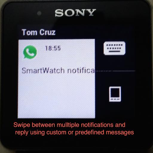 Quick Reply for SmartWatch 2 - screenshot