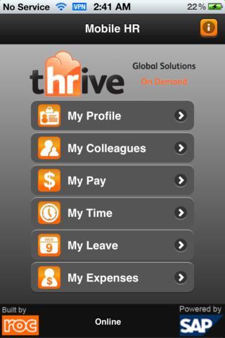 tHRive Mobile