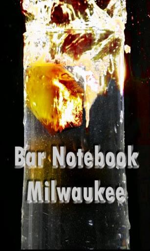 Bar Notebook - Milwaukee