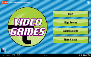 Screenshot of Video Game Trivia