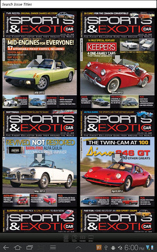 Hemmings Sports and Exotic Car