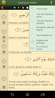 Screenshot of Türkçe Kur'an-ı Kerim