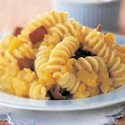 Pasta with Squash and Bacon