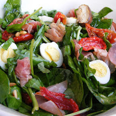 Wilted Spinach Salad With Balsamic-Honey Vinaigrette