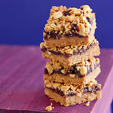 Nutty Peanut Butter & Jelly Squares