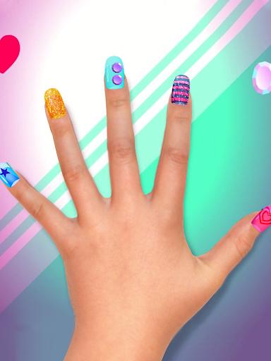 Crayola Nail Party: Nail Salon - screenshot