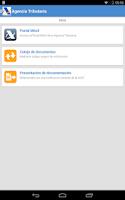 Screenshot of Agencia Tributaria