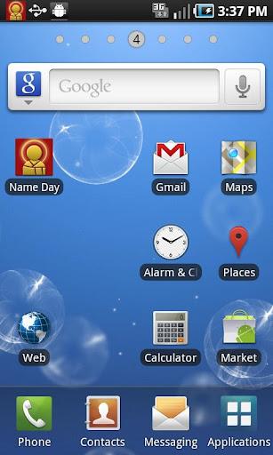 The NameDay App