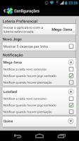 Screenshot of Loterias Mobile - Gratuito