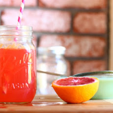 Blood Orange Italian Soda