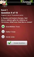 Screenshot of Ultimate Christmas Quiz