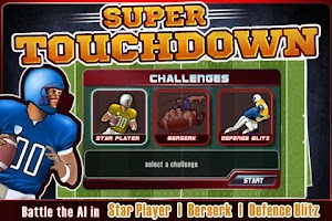 Screenshot of Super Touchdown