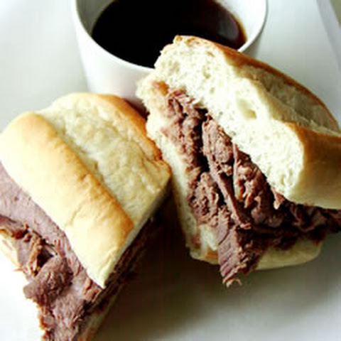 Easy Slow Cooker French Dip