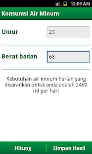Kalkulator Sehat- screenshot thumbnail