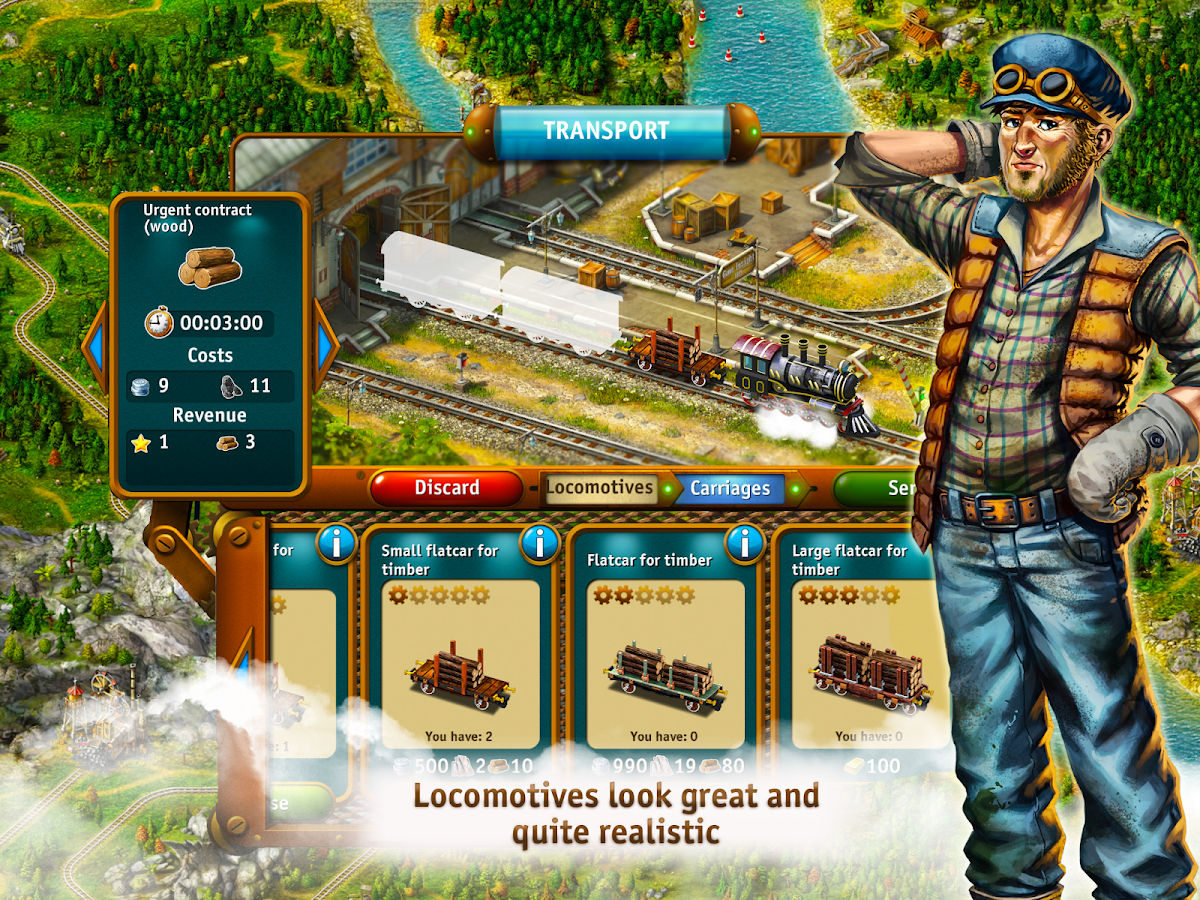 Transport Empire: Steam Tycoon Screenshot 8
