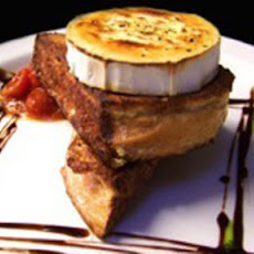 French Toast With Toasted Goat's Cheese And Chutney