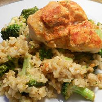 Chicken and Rice Skillet with Broccoli