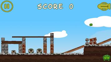 Screenshot of Battle Frogging