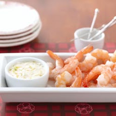Shrimp with Lemon Seafood Sauce