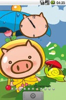 Screenshot of Pig Chicky Full Theme