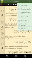 Screenshot of Quran Bahasa Melayu