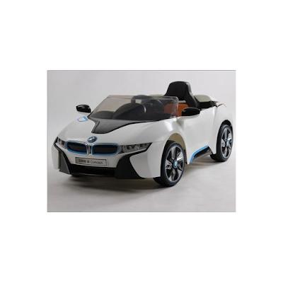 acheter bmw i8 blanc voiture lectrique pour enfant 12 volts 2 moteurs venette chez kiddi. Black Bedroom Furniture Sets. Home Design Ideas