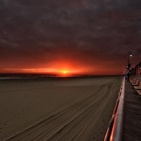 November's Signature by Linda Karlin - Landscapes Sunsets & Sunrises ( nature, sunset, landscape )