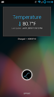 Screenshot of Holo Ambient Temperature