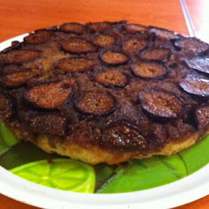 Upside-Down Fresh Fig Cake