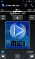 Screenshot of Timidity AE Midi Player