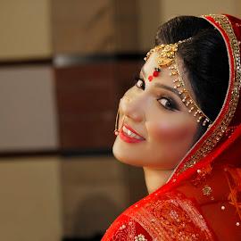 Nirma by Ahmed Omar Aziz Bony - Wedding Bride ( wedding photography, bangladesh, bride, engagement,  )