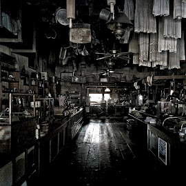 Haunted Store by Apollo Reyes - City,  Street & Park  Markets & Shops