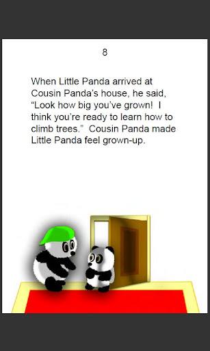 Brave Little Panda-- English