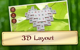 Screenshot of 3D Mahjong Mountain PREMIUM
