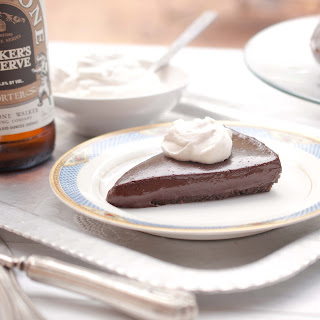 Chocolate Porter Beer Tart With Porter Whipped Cream