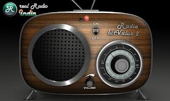 Screenshot of real Radio India