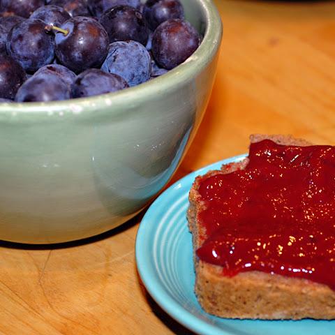 10 best plum jam dessert recipes yummly - Plum jam without sugar homemade taste and health ...