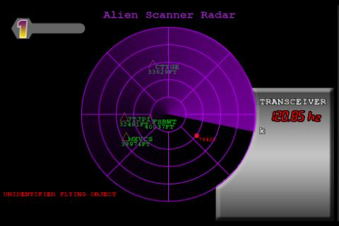 Alien Scanner UFO Radar