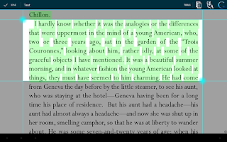 Screenshot of EBookDroid - PDF & DJVU Reader