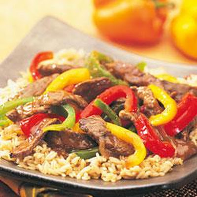 Swanson® Steakhouse Beef and Pepper Stir-Fry