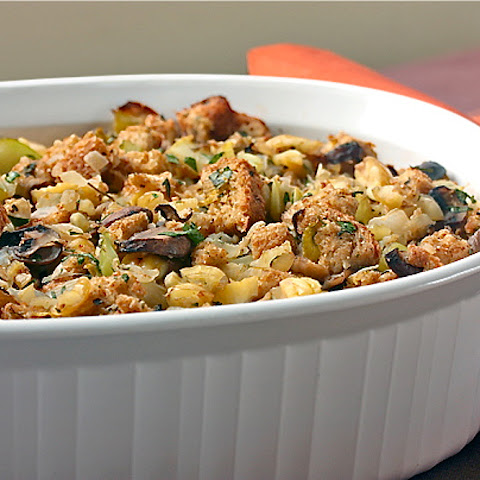 Italian Sausage, Mushroom And Chestnut Stuffing Recipes — Dishmaps