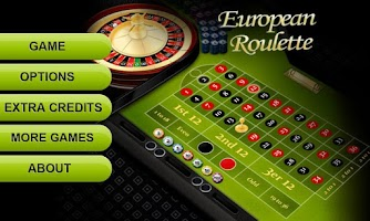 Screenshot of European Roulette