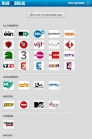Screenshot of Mijn TV Gids