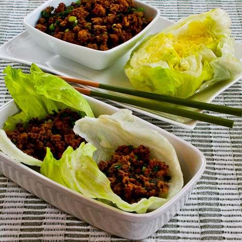 Quick Sriracha Beef Lettuce Wraps Recept   Yummly